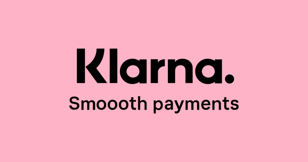 Shop now, pay later with Klarna.