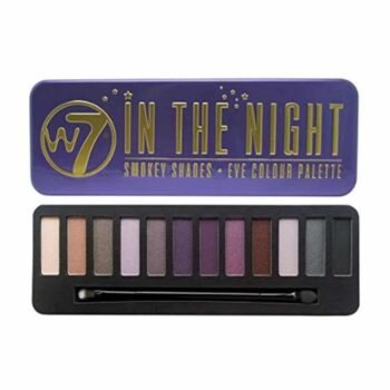 W7 Cosmetics In The Night Eyeshadow Palette with Lid