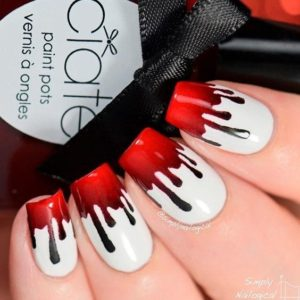 Halloween Nails - Bloody