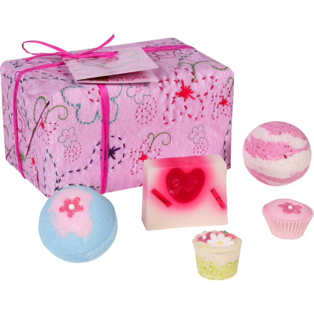 Bomb Cosmetics Pretty in Pink 5 Piece Gift Pack